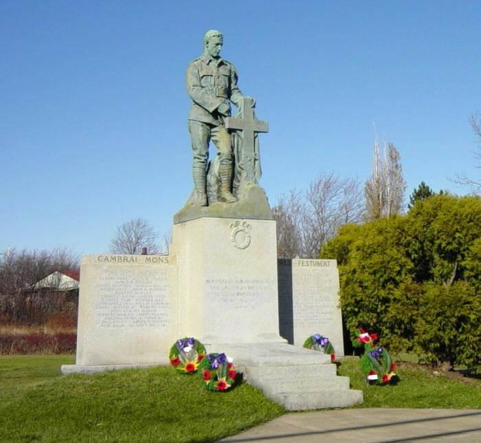 Westville: war memorial